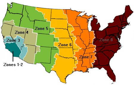 Mountain Mailing Blog Blog Archive How To Save Postage On - Us shipping zones map